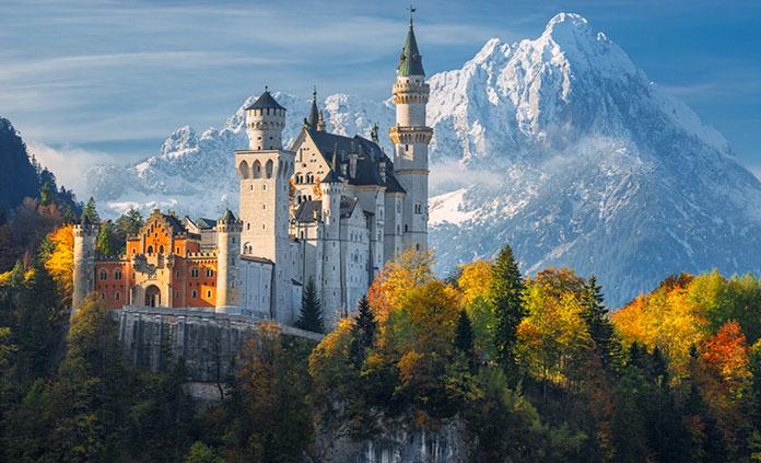 Germany to Austria Walking & Hiking