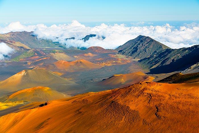 Haleakala Volcano, Maui, Hawaii