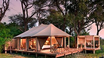 andBeyond Nxabega Okanvango Tented Camp