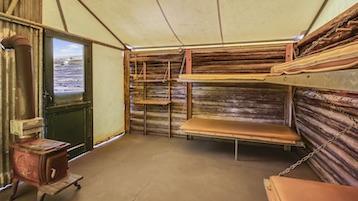 Colter Bay Tent Village / Grand Teton Lodge, Wyoming