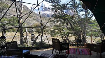 EcoDomes, El Chalten, Patagonia