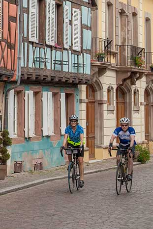 Champagne & Alsace Family Bike Tour