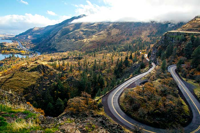 Rowena, Columbia River Gorge, Oregon