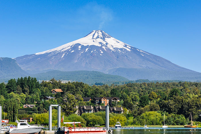 Snow-capped mountain - Chile Family Multi-Adventure Tour