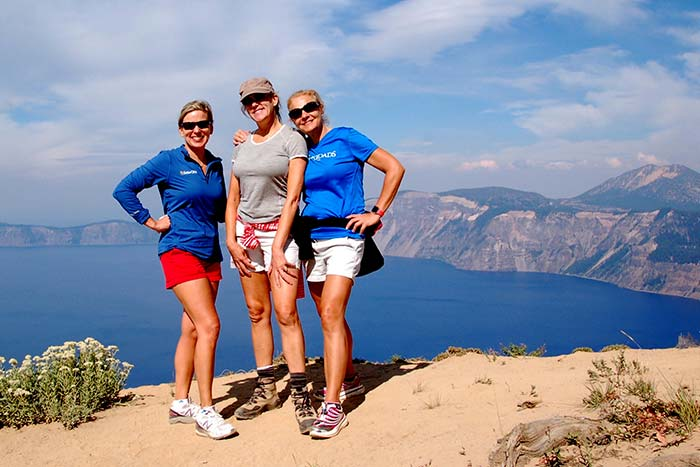 Crater Lake Hiking