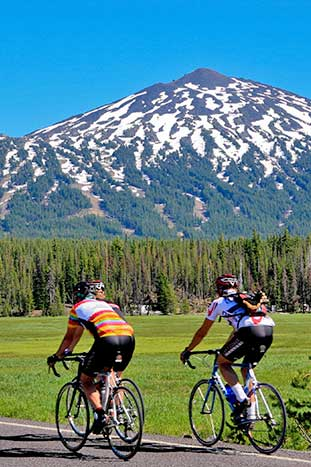 Biking in Oregon's Cascades