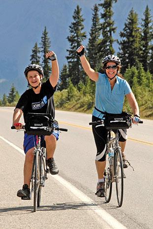 Banff to Jasper Family Multi-Adventure Tour