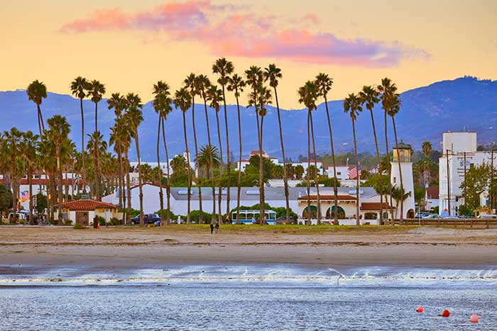 Santa Barbara Beach, California