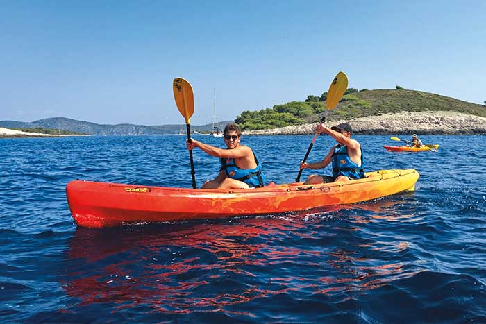 Kayaking - Adriatic Sea