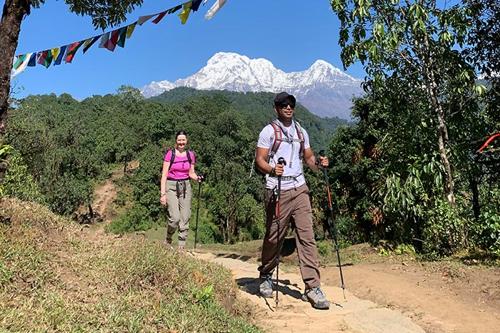 Nepal walking and hiking tour