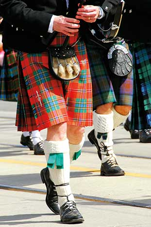 Bagpipers - Scotland Family Walking & Hiking Tour - Older Teens & 20s