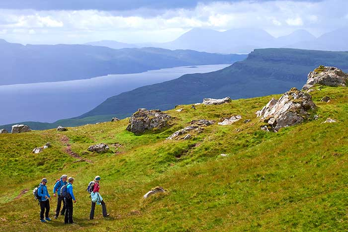 Scotland walking and hiking tours