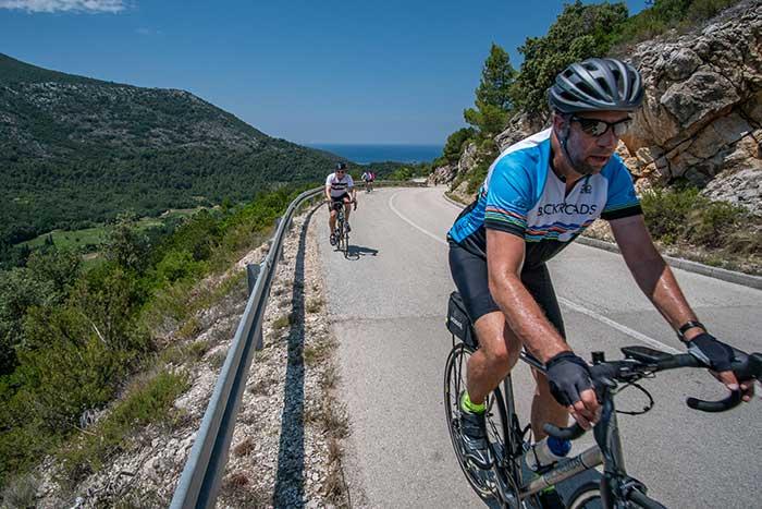 Biking in the Mountains of Croatia