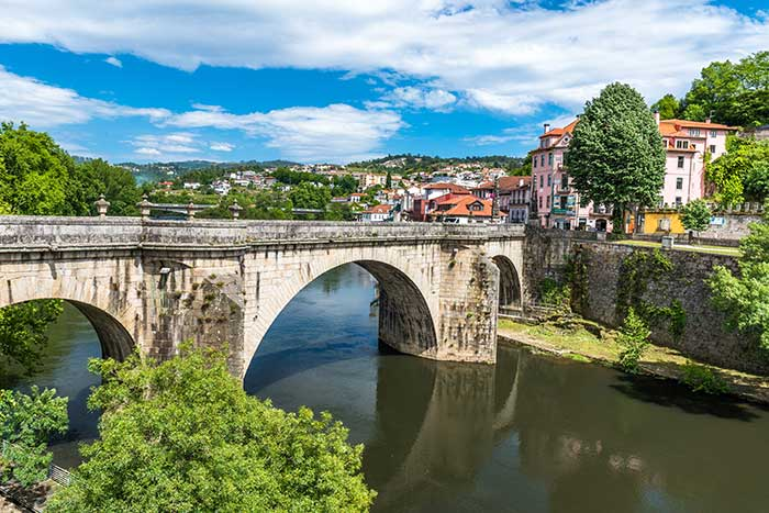 Bridge at the Monastery Of Saint Goncalo, Portugal