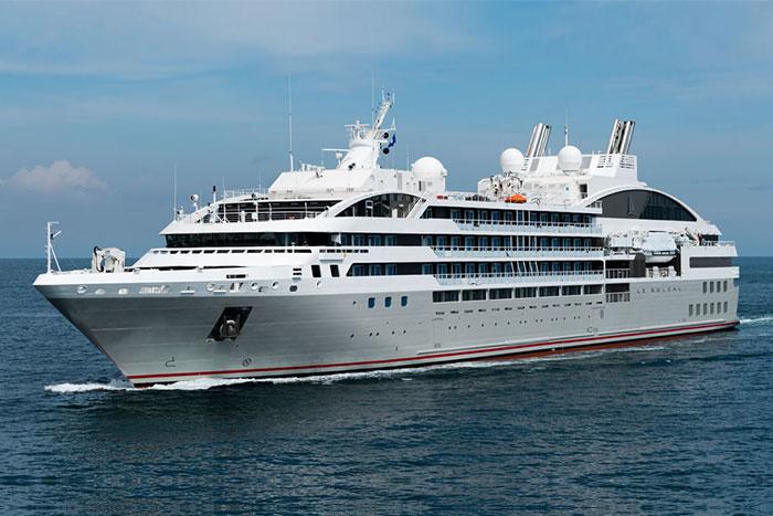 Alaska Cruise Ship, Ponant