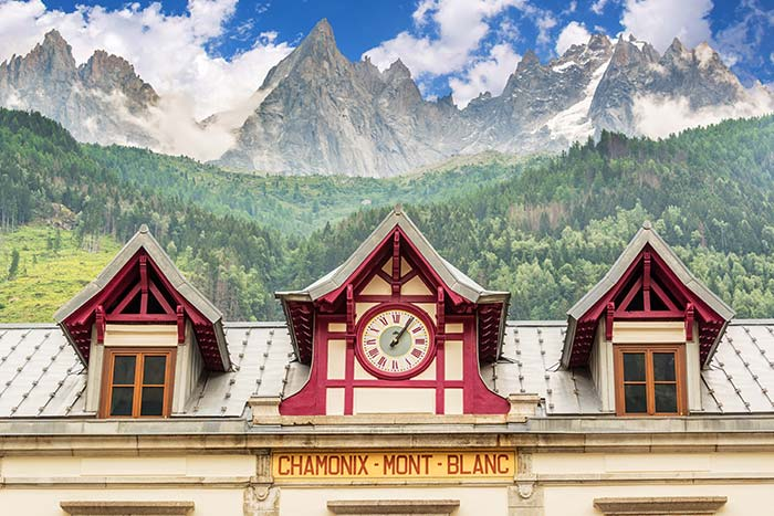 Chamonix Mont Blanc Building, France