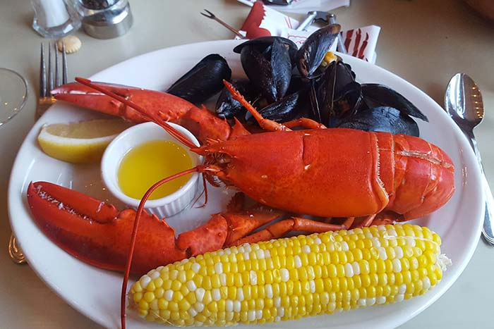 Maine Lobster and Seafood Dinner