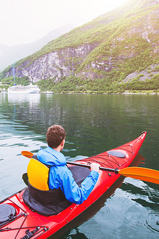 Kayaking - Norway Family Multi-Adventure Tour - 20s & Beyond