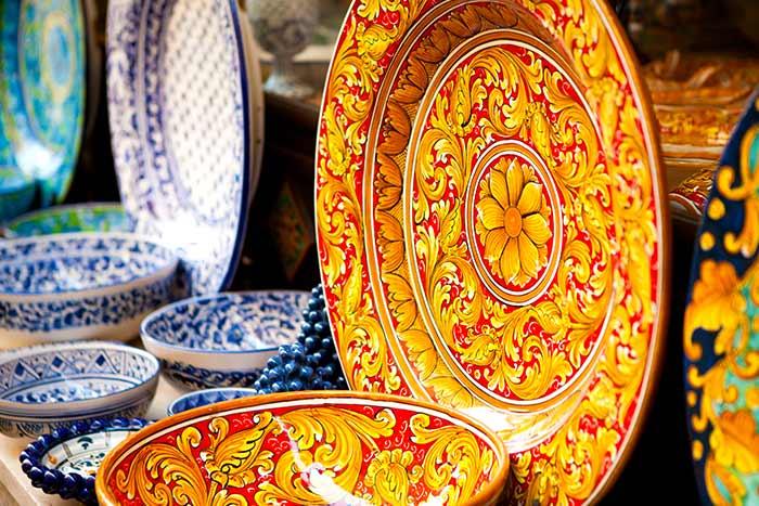 Sicilian Plates, Italy