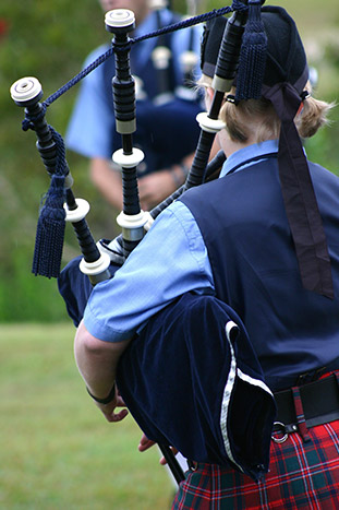 Bagpipers, Scotland