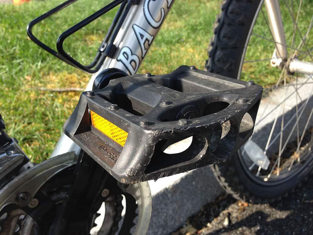 plastic platform bike pedal