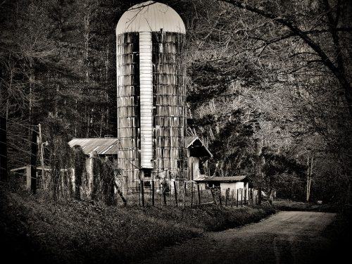 BackwaterStills.com - Dark Hollow, Grain Silo Art - Art for Sale