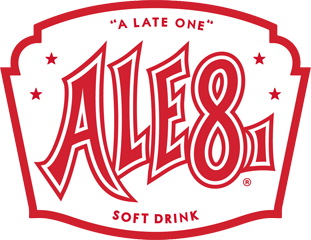 Logo ale 8 one white