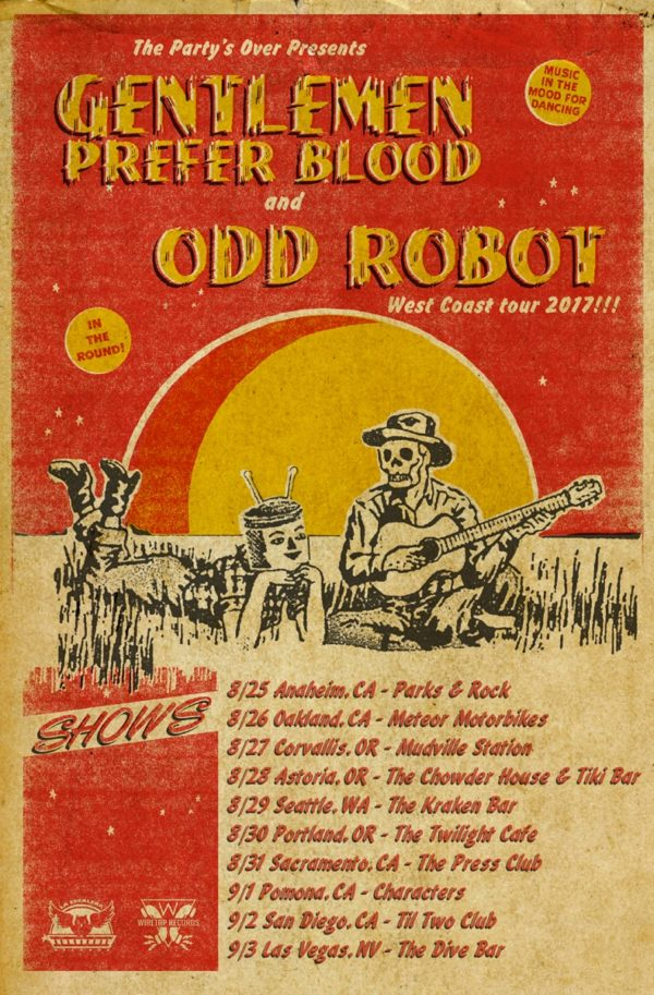 Gentlemen Prefer Blood Odd Robot