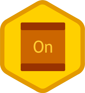 On-site badge