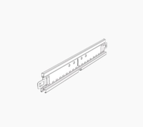 12 ft x 9/16 in Chicago Metallic 4600 Ultraline Exposed Main Tee w/ 1/8 in Reveal - 4600.01