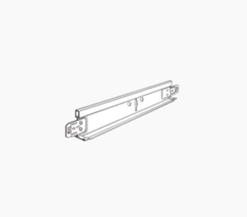 6 ft x 1 3/8 in Chicago Metallic 660 Non-Fire Rated Drywall Grid System Stab End Tab Furring Tee - 677.00C