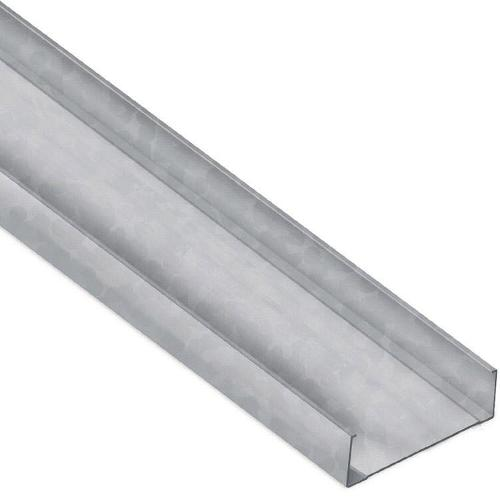 6 in x 15 ft 7 1/4 in x 18 Gauge 43 mil Unpunched HDS Structural Steel Stud w/ 3 in Flange