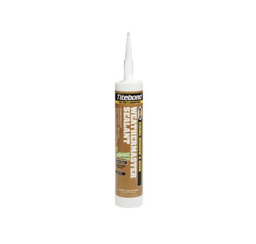 Titebond WeatherMaster Sealant / White - 10.1 oz Tube