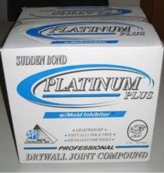 Solid Products Sudden Bond Platinum Plus Lightweight Drywall Joint Compound - 4.5 Gallon Box