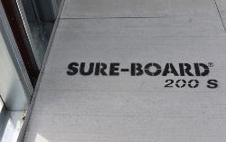 11/16 in x 4 ft x 4 ft Marino\WARE Sure-Board 200S Floor/Roof Sheathing Panel