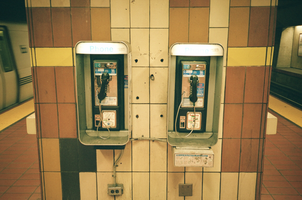 actual working pay phones