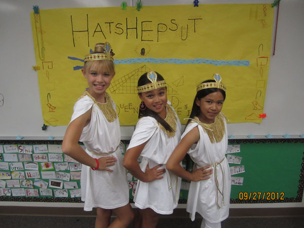 "Musical Play: ""Hatshepsut, Queen of Denial"" - HATS-PL"