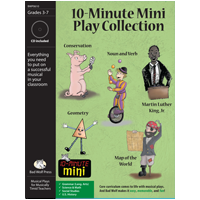 Musical Play: 10-Minute Mini Collection - 10MI-PL