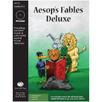 """Aesop%27s Fables Deluxe"" Musical Play by Bad Wolf Press"