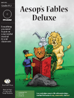 Musical Play: Aesop's Fables Deluxe Aesop's fables, Aesops fables activities, language arts activity, first grade play,language arts resource, language arts resources for elementary school, Aesop's fables readers' theater, Aesop's fables skits