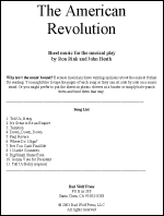 Sheet Music: American Revolution
