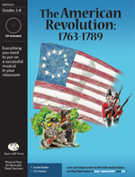 Musical Play: American Revolution American history activities, American Revolution play for elementary school, American history skits, American Revolution resource, American history readers' theater, The Revolutionary War