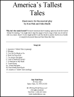 Sheet Music: America's Tallest Tales