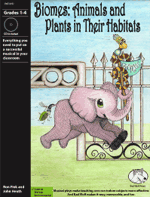 Musical Play: Biomes: Animals and Plants in Their Habitats Life science resource, biology activity, biology resources for elementary school, life science play for elementary school, life science skits, life cycles, life science reader's theater