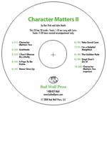 """Character Matters II"" Audio Recording"