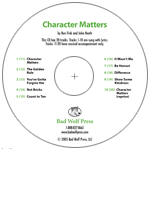 """Character Matters"" Audio Recording"
