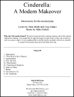 """Cinderella: A Modern Makeover"" Sheet Music"