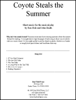 Sheet Music: Coyote Steals the Summer