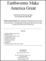 Sheet Music: Earthworms Make America Great