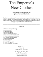 Sheet Music: The Emperor's New Clothes - EMPO-MU